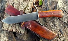 Mountain Man Knives   K91 Mountain-Man Bowie Knife. Hand Forged