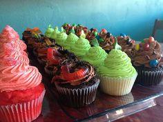 Cupcakes at Something Sweet (Paragould, AR). #cupcakes