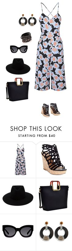 """""""Untitled #605"""" by clothes-wise ❤ liked on Polyvore featuring Glamorous, Charles by Charles David, rag & bone, Dasein, Karen Walker, Hissia and Nest"""