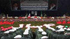 The islamic revolution anniversary speech, in Iran, was showedan agressive determination against its enemies. Iran Today, Iraqi President, Youth Of Today, Saddam Hussein, Iraq War, The Day Will Come, 40th Anniversary, Countries Of The World, Enemies
