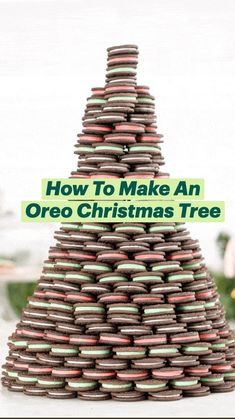 Xmas Food, Christmas Cooking, Christmas Desserts, Christmas Treats, Holiday Treats, Holiday Recipes, Oreo, Cake Decorating, Sweet Treats