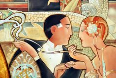 Image result for (couples-artists art nouveau)