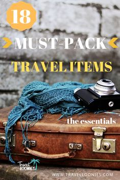 18 Must-Pack Travel Items (the ultimate holiday packing list) The ultimate travel Packing List Holiday Packing Lists, Packing Tips For Vacation, Travel Checklist, Travel Packing, Travel Essentials, Packing Ideas, Travel List, Travel Hacks, Vacation Destinations
