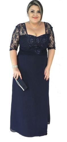 vestidos para madrinha de casamento plus size - Pesquisa Google