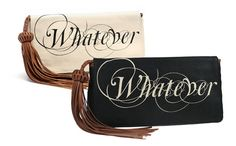 Whatever Titania Etched Clutch