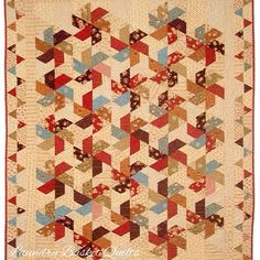 Laundry Basket Quilt of the Day - Twist and Turn
