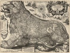 The Netherlands as a Lion (1611)