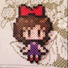 Kiki from Kiki's Delivery Service perler beads by lizlintnerd