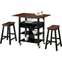 Found it at Wayfair - 4D Concepts Phoenix 3 Piece Kitchen Island Sethttp://www.wayfair.com/4D-Concepts-Phoenix-3-Piece-Kitchen-Island-Set-43928-FDC1352.html?refid=SBP Can I have this for my tiny house?