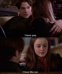 """That time Dean lashed out at Rory for not saying """"I Love You"""" back. 10 Times Dean Was The Worst Character On """"Gilmore Girls"""" Mode Gilmore Girls, Gilmore Girls Funny, Gilmore Girls Quotes, Gilmore Girls Fashion, Estilo Rory Gilmore, Lorelai Gilmore, Rory Gilmore Style, Team Logan, Glimore Girls"""