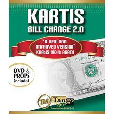 Kartis Bill Change 2.0 (w/DVD)