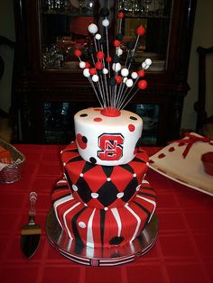 The cake I want made when my son graduates from NCSU!