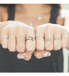 Cute girl anillos
