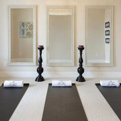 yoga or pilates room