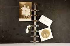Vintage XRay Clip Rack  Repurpose as a photo holder, note, holder, or an Inspiration board by ThirdShift - Lots of clever ways to use this piece!  Click to see!  https://www.etsy.com/listing/170531488/vintage-x-ray-clip-rack-repurpose-as-an?ref=shop_home_active