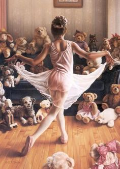 a dance for the teddy bears.....I love this!