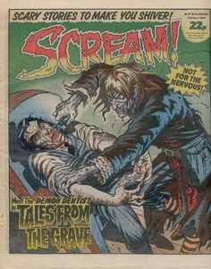 Scream! comic from 1984.
