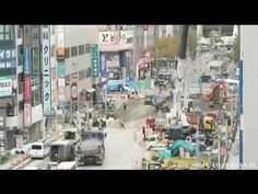 Timelapse: How Japan restores giant sinkhole in 7 days
