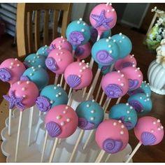 41 Ideas birthday party ideas mermaid cake pop for 2019 Mermaid Cake Pops, Little Mermaid Cakes, Little Mermaid Parties, Mermaid Mermaid, Diy Mermaid Birthday Party, 6th Birthday Parties, Birthday Party Decorations, Kid Parties, Birthday Ideas