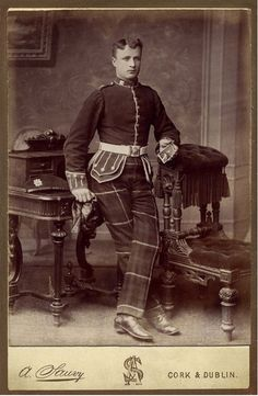 71st Highland Light Infantry soldier
