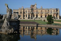 A hundred years ago, Witley Court was one of England's great country houses, hosting many extravagant parties. Today it is a spectacular ruin, the result of a disastrous fire in 1937. This is my 2nd favorite place on earth.