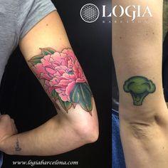 Φ Artist LAIA DESOLE Φ Tatuaje de unas divertidas hortalizas por Laia Desole. Cool. Cute