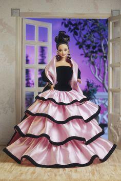 Barbie's designer fashion: from Dior to Burberry (Vogue.com UK) // Escada