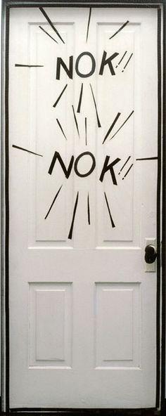 Roy Lichtenstein, NOK!! NOK!! (Door from A Room, Aspen), 1967