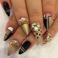 Matte Gold, Nude, Black & White…. I Love how this came...