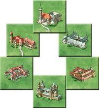 Carcassonne & Co.: Carcassonne Spiel des jahres 2001 Mini Erweiterung Die Klöster Klaus Jürgen Wrede