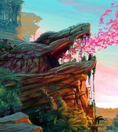 The Road to El Dorado Dreamworks Movies, Dreamworks Animation, Disney And Dreamworks, Animation Film, Disney Animation, Disney Animated Movies, My Fantasy World, Animation Background, Environment Concept Art