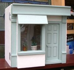 Beautiful 1/12th Scale Handmade 'Shabby Chic' Dolls House Shop | eBay
