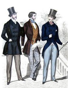 .História da Moda.: Século XIX: Parte 1 - A Moda na Era Romântica