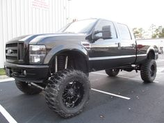 Ford Diesel Pickup Trucks For Sale | Lifted 2004 Ford F350 Lariat Diesel Truck For Sale