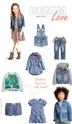 h&m spring, kids collectie, voorjaarsmode kinderen, denim, spijkerbroek, jeans, kinderkleding - kids fashion - I heart denim