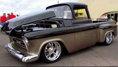 Quotes that inspire fire in you and make you fireproof. Just Like a PILOCH fireproof Bag 57 Chevy Trucks, Hot Rod Trucks, Chevy Pickups, Cool Trucks, Lowrider Trucks, Chevy Stepside, Chevy S10, 4x4, Classic Pickup Trucks