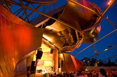 Jay pritzker pavilion (2007) Frank Gehry - Buscar con Google
