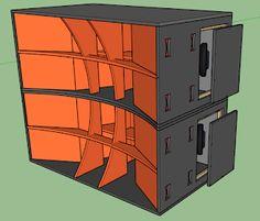 Skema Box WONDER Horn W218 Subwoofer Mantap Diy Subwoofer, Subwoofer Box Design, Speaker Box Design, Monitor Speakers, Diy Speakers, Martin Audio, Speaker Plans, Dj Equipment, Loudspeaker