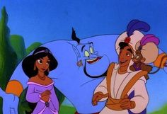 Aladdin! The movies and T.V. series were amazing!