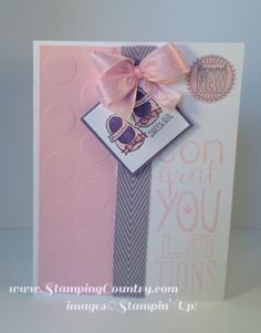 Brand New Sweet Girl by Robin Lee - Cards and Paper Crafts at Splitcoaststampers