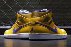 Air Jordan 1 Mid: Pistons and Lakers