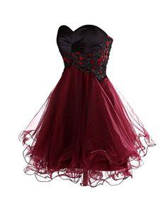 ber ideen zu rote party kleider auf pinterest. Black Bedroom Furniture Sets. Home Design Ideas