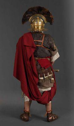 Roman officer (back)