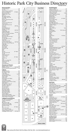 Historic Park City Directory