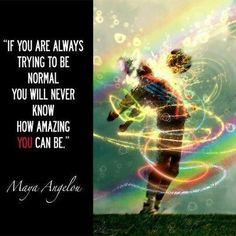 Thank you, Maya Angelou!