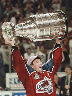 1996- Joe Sakic ~ Colorado Avalanche ~ It will be ours again. Yes, it will be ours again!
