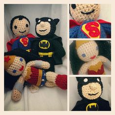 Wonder Woman Crocheted Doll via Etsy ... She also makes Yoda, Chewbacca and The Doctor!