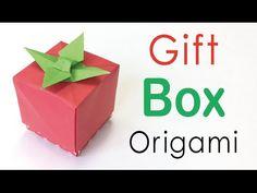 Origami Paper Tomato Gift Box ✨DIY✨ - Origami Kawaii - YouTube