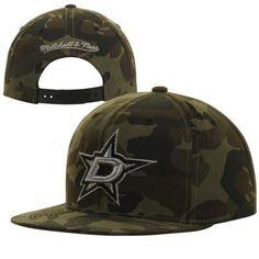 0d0a7091f55 Mitchell   Ness Dallas Stars Reflective Woodland Snapback Hat - Camo