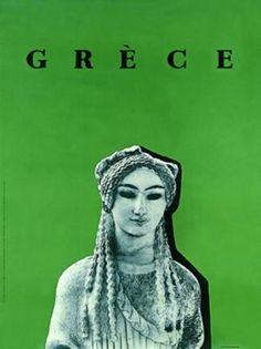 GRECE 1960~1962. (Η ΚΟΡΗ ΜΕ ΤΑ ΑΜΥΓΔΑΛΩΤΑ ΜΑΤΙΑ). Σχεδιαστής σύνθεσης ο Μιχάλης Κατζουράκης.